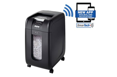 Swingline Stack-and-Shred 300X Auto Feed Shredder - Justbinding.com