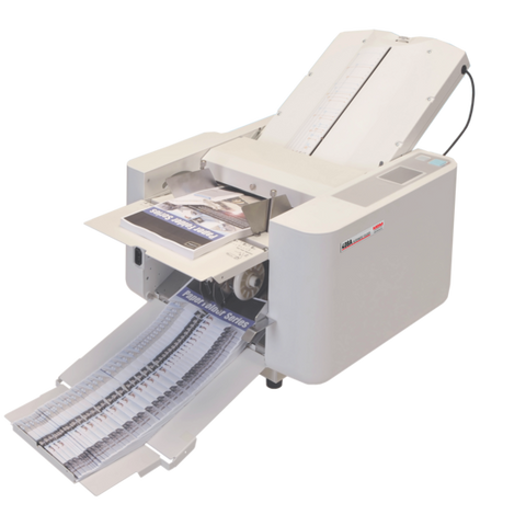 MBM 408A Automatic Tabletop Paper Folder - Justbinding.com