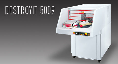 5009 High Capacity Cross-cut Shredder - Justbinding.com