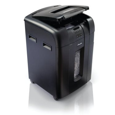 Swingline Stack-and-Shred 500X Hands Free Shredder - Justbinding.com
