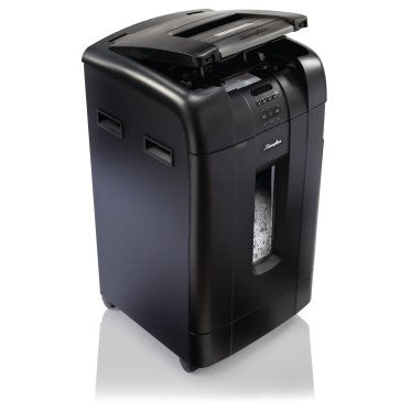 Swingline Stack-and-Shred 750X Hands Free Shredder - Justbinding.com