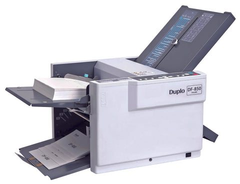 DF-850 Duplo Tabletop Folder - Justbinding.com