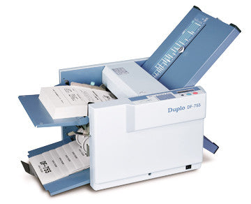 DF-755 Duplo Manual Setting Folder