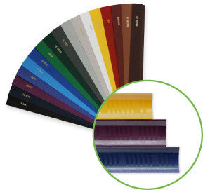 "Medium 11"" FastBack Binding Strip, 100 pcs box - Justbinding.com"
