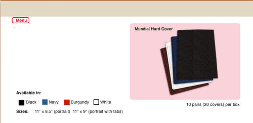 Mundial Hard Covers - Justbinding.com