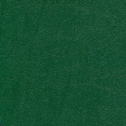Leather Dark Green 16 mil Letter Poly Covers, 50 pcs