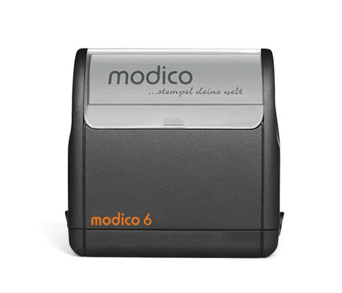 modico 6 Rubber Stamp