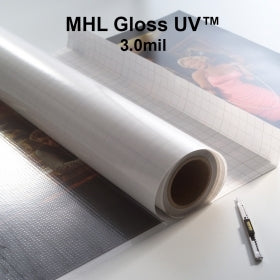 Drytac MHL Gloss UV 3.0 mil Low Temperature Film, 5 sizes