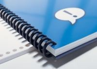 5/8 Navy ProClick Easy-editing Spines - Justbinding.com