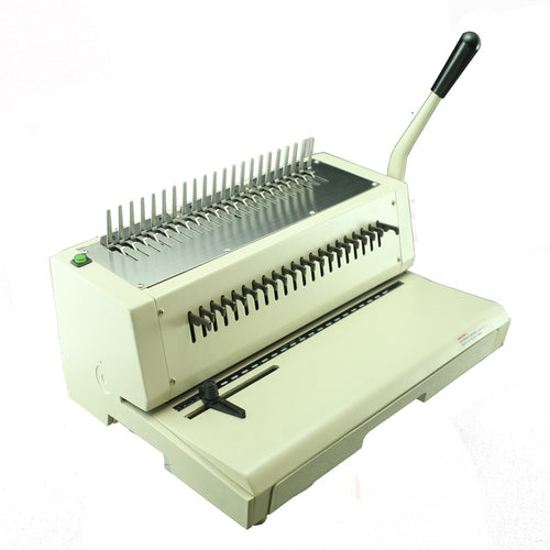 TCC210 EPB Electric Comb Punch & Manual Binder - Justbinding.com