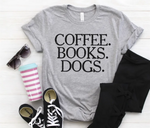 Coffee. Books. Dogs