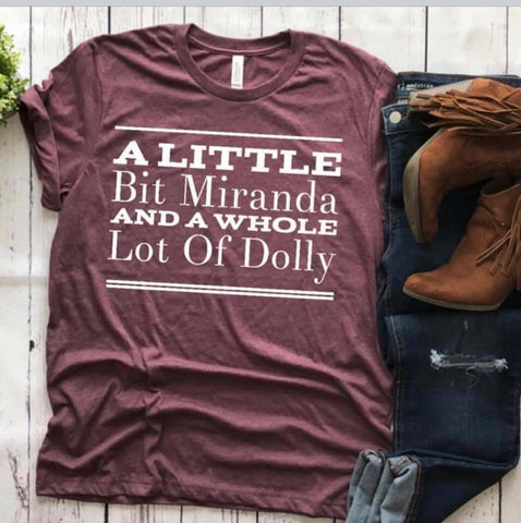 A little bit Maranda and a whole lot of Dolly!
