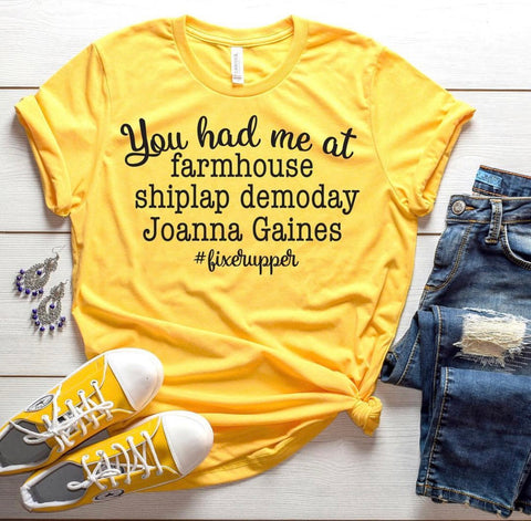 You hade me at farmhouse