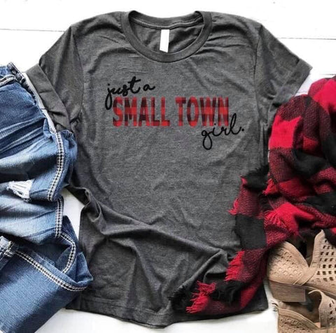 Just a small town girl!