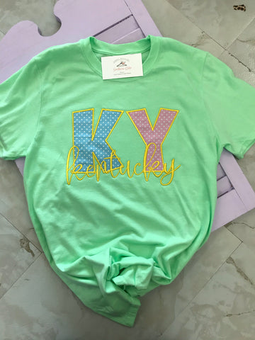 KY spring embroidery