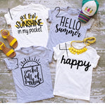 Sunshine and summer collection