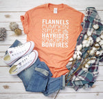 Flannels Pumpkin spice  all things fall