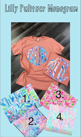 Lilly Pulitzer Inspired Soft Tee