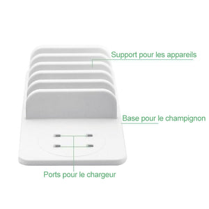 Station de chargement multi-support