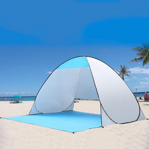 Tente de plage anti-UV 3 places