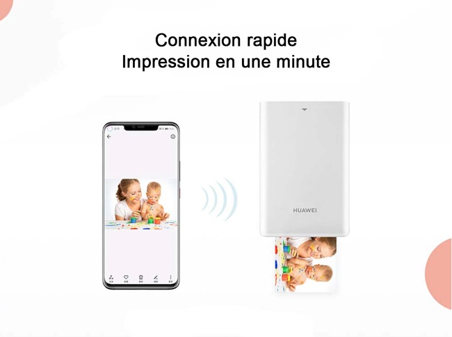 Huawei - Imprimante Bluetooth Portable