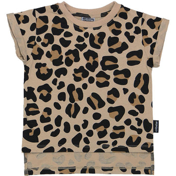 LEOPARD Short Sleeved T-Shirt