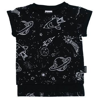 SPACE AOP Short Sleeved T-shirt
