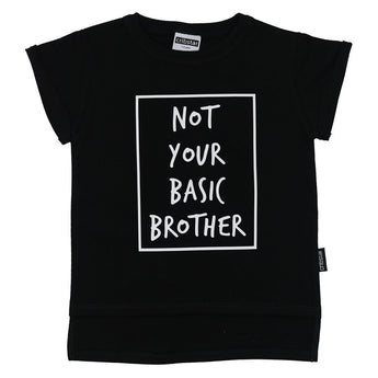 NOT YOUR BASIC BROTHER Short Sleeved T-shirt