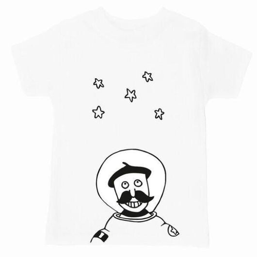 PEPE SPACEMAN Short Sleeved T-shirt