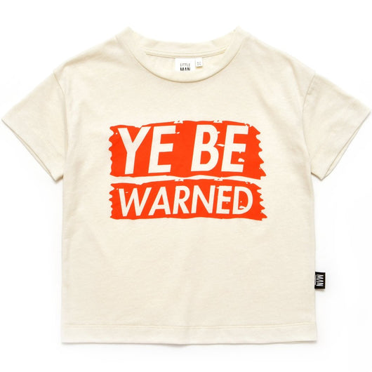 YE BE WARNED Box Shirt