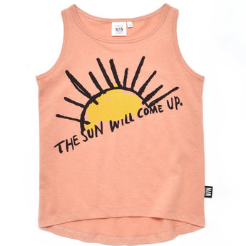 THE SUN WILL COME UP Longline Tank