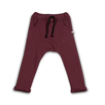 Jogging Pants: Harem Fit (Tawny Port)