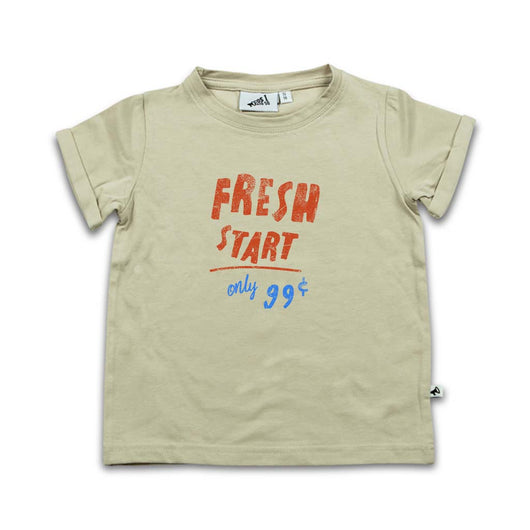 FRESH START Short Sleeved T-shirt
