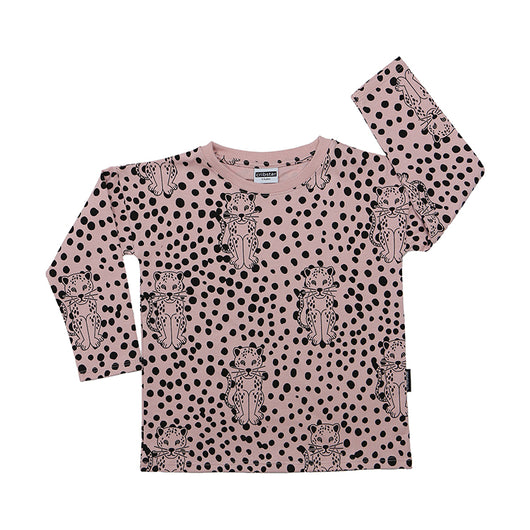 Spotty Leopard Long Sleeve Top