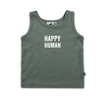 Happy Human Tank Top