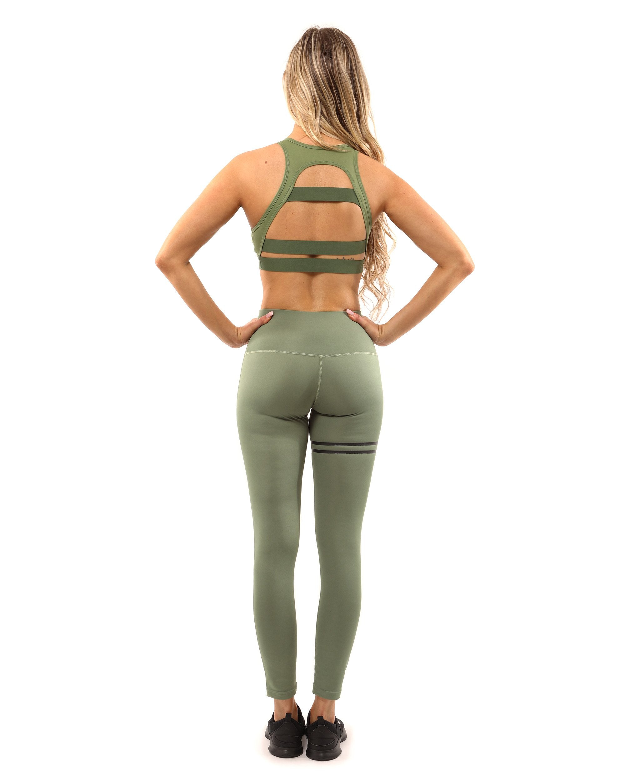 Huntington Leggings - Olive Green - olivias-room-boutique