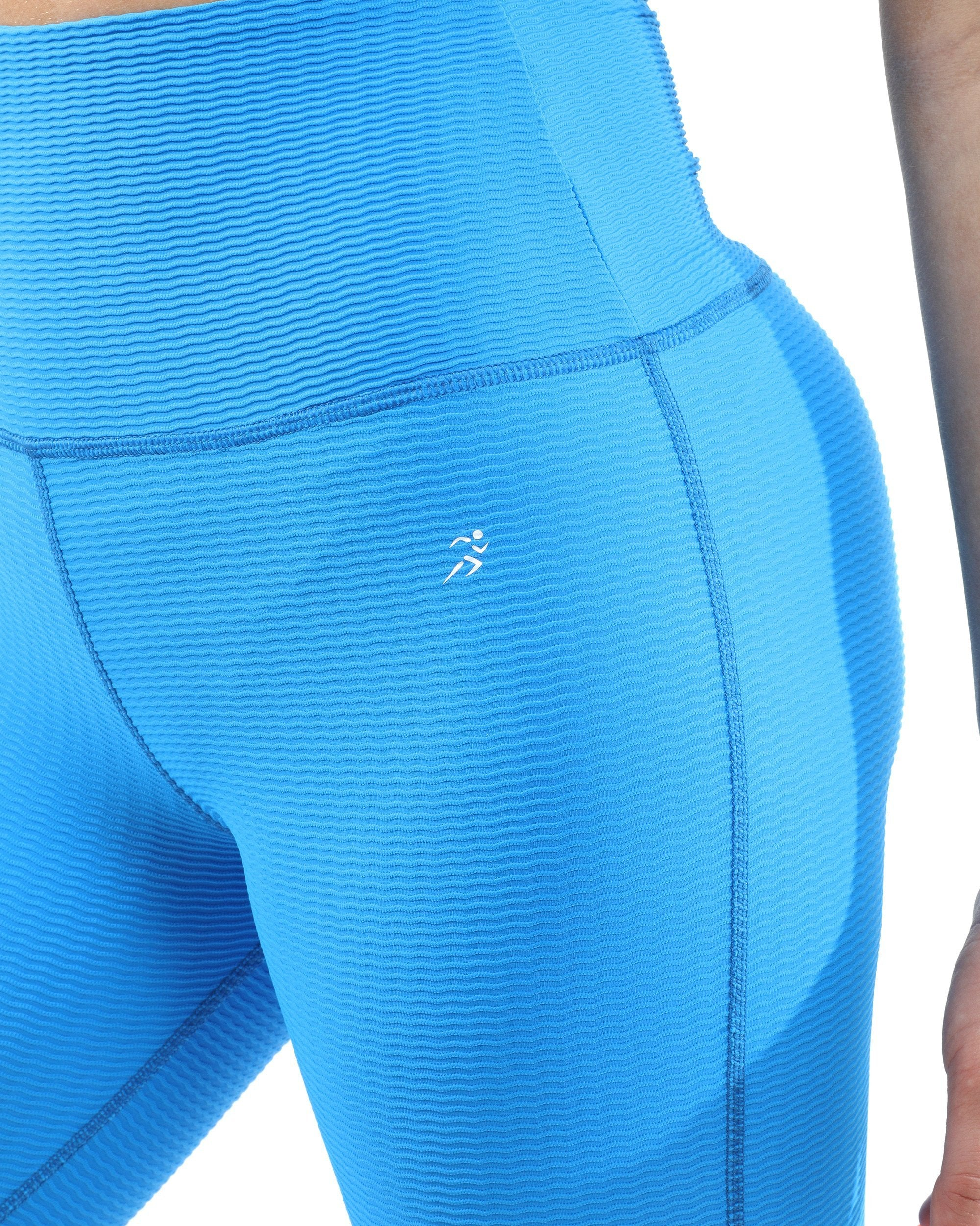 Positano Activewear Leggings - Aqua [MADE IN ITALY]