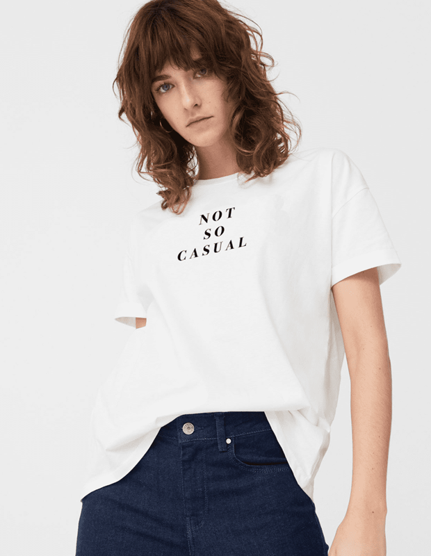 Not so Casual Cotton T-Shirt