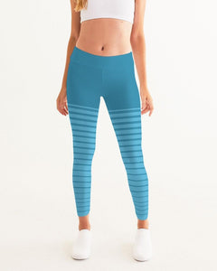 Active Comfort Pacific Supply Stripe Sport Yoga Pant - Monsoon Ridge