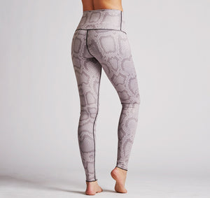 Colorblock Snakeskin Legging - olivias-room-boutique