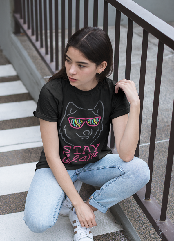 Stay Glam Women T-shirt - olivias-room-boutique