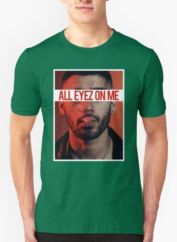 All Eyes On Me Green T-shirt - Monsoon Ridge