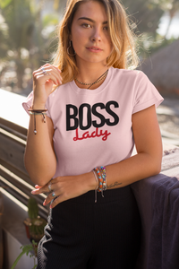 Boss Lady  Women T-shirt - olivias-room-boutique