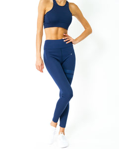 Ashton Leggings - Navy Blue - olivias-room-boutique