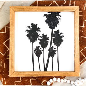 Hollywood Palms Wooden Frame - Monsoon Ridge