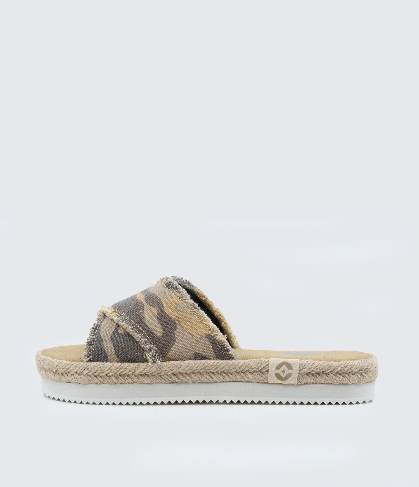 Kamala-Camo Slip On Sandals