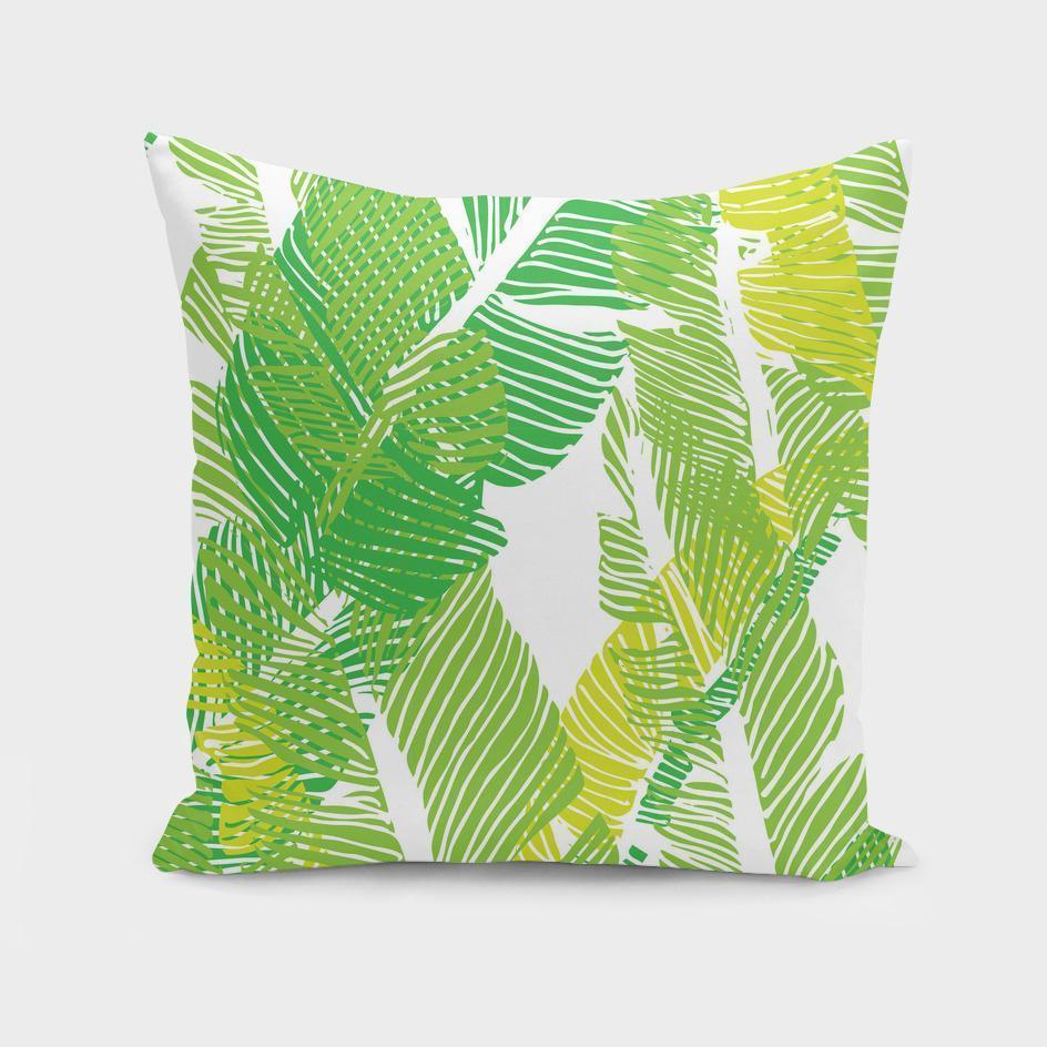 Carved Jungle Cushion/Pillow Cover - olivias-room-boutique