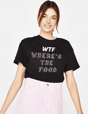 WTF - Where's the food  Women's T-Shirt