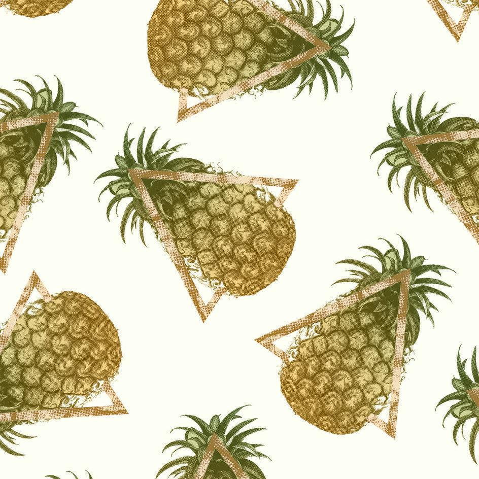 Pineapple and Triangles Cushion/Pillow - olivias-room-boutique