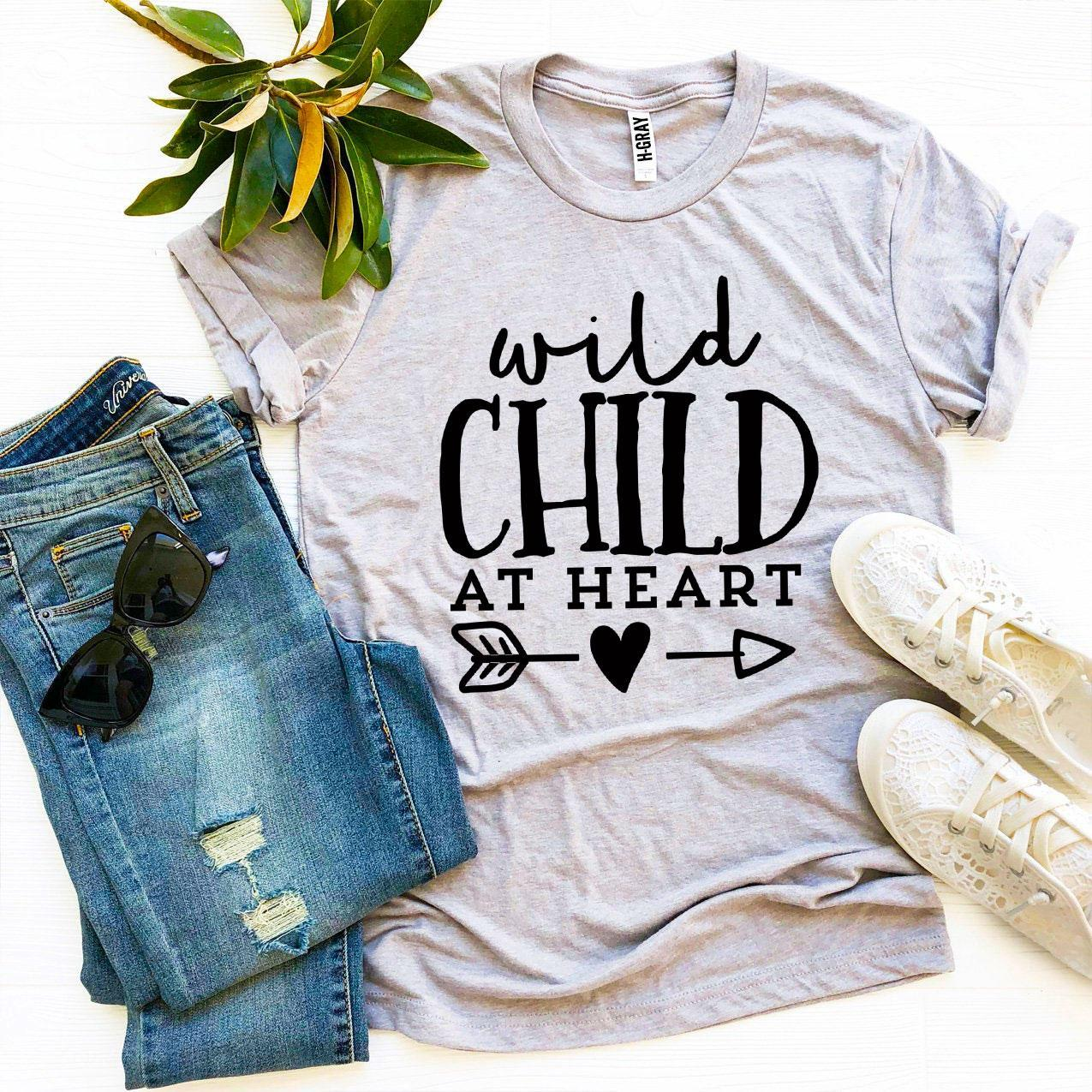 Wild Child At Heart T-shirt - Monsoon Ridge
